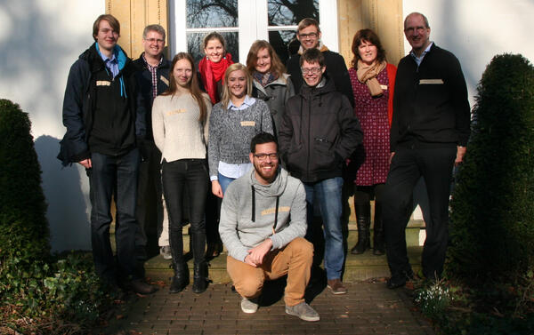 Vorbereitungsteam Jugendkongress 2015
